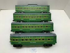 WILLIAMS, O-GAUGE, LUXURY LINES, PASSENGER CARS, MODIFIED