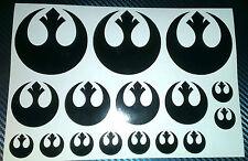 Star Wars Rebel Logo, Jedi Order, Sticker, Vinyl, Car, Tablet, Phone, Laptop,