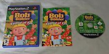 Bob The Builder Festival Von Spaß Playstation 2 ps2 PAL Spiel komplett mit Handbuch