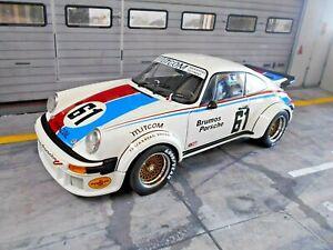 PORSCHE 911 934 RSR 24h Daytona 1977 Brumos #61 Gregg Busby SCHUCO 1:18 RAR