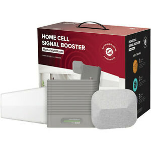 weBoost Home MultiRoom Cell Signal Booster Kit, 65 dB Gain