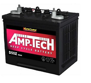Deep Cycle Battery SUPECHARGE AMP TECH  D50Z 12V 80AH