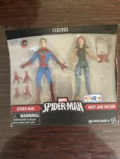 Marvel Legends Spiderman & Mary Jane 2-Pack TRU Exclusive NEW SEALED Hasbro