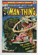 MARVEL COMICS  FEAR  #19  MAN-THING  INTRO  HOWARD THE DUCK  HOT  KEY  1973