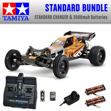 TAMIYA Racing Fighter RC Car Standard Bundle 2x Batteries 58628