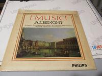 Tommaso Albinoni - I Músicos - LP Estéreo 835235 Ly Philips