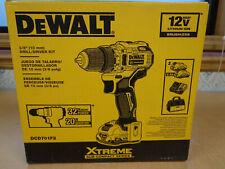 "NEW! Dewalt XTREME 12V MAX Brushless 3/8"" Drill/Driver Kit DCD701F2 FREE SHIP!"