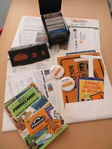 Vintage Retro Bulk-390+cards-Agent Ephemera-cards-Info-Wallets-signs-stickers
