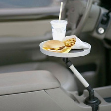 Car Swivel Mount Holder Travel Drink Cup Coffee Table Stand Food Tray Universal