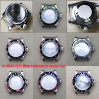 39,5 MM Uhrengehäuse Case für NH35 NH36 Mechanisches Uhrwerk Reparaturzubehör