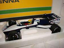 1/18 Brabham BMW BT52, Ayrton Senna, Test 1983 in Paul Ricard, Minichamps, OVP