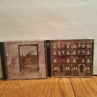 Led Zeppelin CD Lot - IV (Zoso) , Physical Graffiti