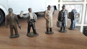 HORNBY 5 Figurines De Gare en Plomb