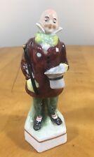 Erphila Germany Hand Painted Porcelain Figurine Victorian Man - Stamped Crown N