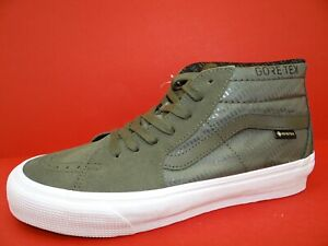 Vans Sk8-Hi Mid Gore-Tex Sneaker Schuhe Turnschuhe Sportschuhe Unisex Gr.42 Grün