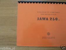 J0013 JAWA---SPARE PARTS 250cc----MODEL