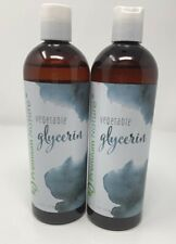 Vegetable Glycerin DIY Beauty Products Hair Skin Face Moisturizer 16 oz Lot of 2