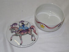 Villeroy & Boch Le Cirque Round Covered Trinket Box 3 3/4""