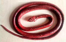 Schlangen Gummischlange   - BRAUN  -  ca. 130 cm                NEU