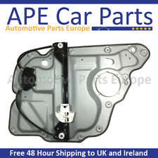 VW Touran 03-15 Window Regulator with Panel Rear Left 1T0839461P