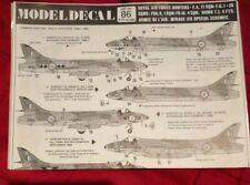 1/72 Modeldecal 86 Hunter F4, F6, FGA9 FR10, Hawk T1, French MIRAGE III special
