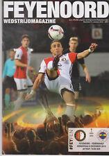 Programme / Programma Feyenoord Rotterdam v Fenerbahce 08-12-2016 Europa League