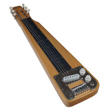 CLEARANCE BARGAIN Wood Lap Steel Slide Electric Guitar with optional legs Quincy