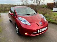 Nissan Leaf July 2013 Acenta 24kWh 5dr Auto HATCHBACK Mot to Dec 21