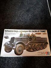 "Tamiya Schwerer Zugkraftwagen 18t(sd.kfz.9)""famo"""