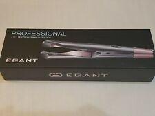 Egant Professional 2 in 1 Twisted Flat Iron Hair Straightener Curling Iron Style