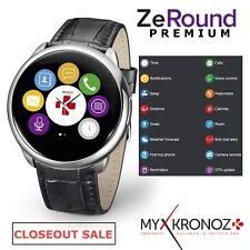 MyKronoz ZeRound iOS Android SMART WATCH Answer Call Sleep Fitness Tracker