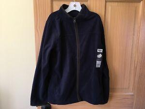 New OshKosh Navy Blue Fleece Jacket 6,8,10/12,14