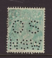 KGV 1/4 Turquoise 'C of A' Wmk Perforated 'OSNSW', Used.