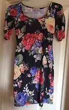 Be Beau Bodycon Floral Dress Size 10