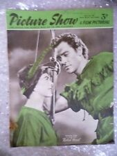 1952 PICTURE SHOW- Richard Todd, Jone Rice, ROBIN HOOD, 12 April