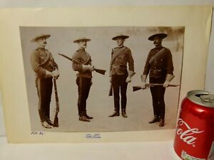 1897 4 Mounties Canada  Original Photograph RG Harris Military Archive #A7