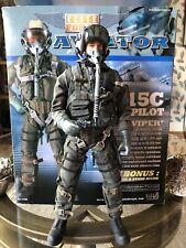 Elite Force BBi 1:6  F-15 Pilot Top Gun Aviator Viper
