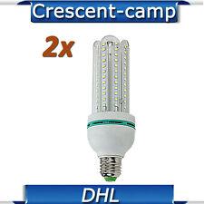 2 x E27 18W 6500K LED Fotolampe Lampe Tageslichtlampe Energiesparlampe Glühbirne