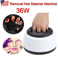 Profession Nail Art Electric Steam off UV Gel Polish Removal Machine Steamer US