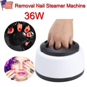 Profession Nail Art Electric Steam off  Gel Polish Removal Machine Steamer!!!