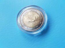 2 euro conmemorativa Portugal 2011 fernao mendes pinto en sello brillo