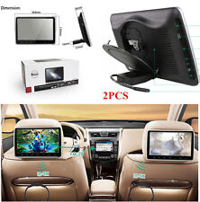 "2Pcs 10.1"" Car Headrest DVD Game Player with Remote Control & USB/SD/HDMI Port"