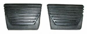62-67 Chevy Nova & Chevy II  Clutch & Brake  Pedal Pad Set (PAIR)