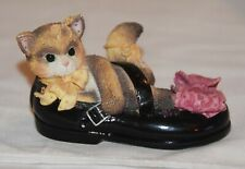 "Enesco Calico Kittens ""I'll Be There Every Step of the Way"""