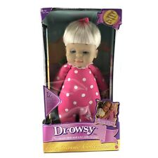 """Drowsy Baby Girl Doll Mattel 15"""" Classic Collection Mattel 2000"""
