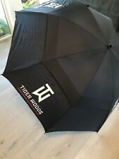 Used By Tiger Woods!!! Personal Golf Umbrella Collectors Item Nike Golf Large