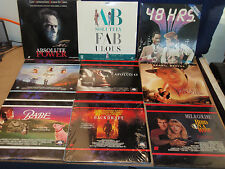 Lot Of Laserdiscs ~ make your own lot ~ NEW TITLES SEE LIST IN ITEM DESCRIPTION