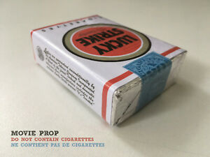 REPLICA Lucky Strike MAD MEN It's Toasted PULP FICTION Movie Prop Pack WWII