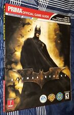 Batman Begins: Prima Official Game Guide (2005, GameCube, PS2, XBox)