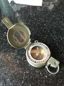 PRISMATIC MARCHING COMPASS MADE BY STANLEY of LONDON SN*****